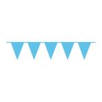 Pennant Banner Caribbean Blue Plastic 1000 x 32 cm