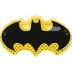 SuperShape Batman Foil Balloon P38 Packaged