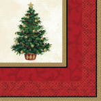 16 Napkins Christmas Tree 33 x33 cm