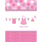Tablecover Shower With Love - Girl 137 x 243 cm