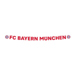 Letterbanner  FC Bayern Munich Paper 180 x 11 cm