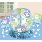 Table Decoration Kit Mi primera Communion Blue 23 Pieces
