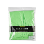 Table Skirt Kiwi Plastic 426 x 73 cm