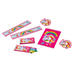 Stationary Favour Set Unicorn Paper / Plastic Pencils 20 Pieces