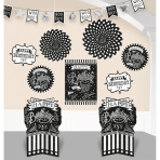Decoration Kit Chalkboard Birthday Paper / Foil 10 Pieces 304 cm / 25.4 - 35.5 cm