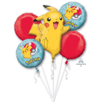 "Bouquet ""Pokemon"" Foil Balloon  , P75, packed,"