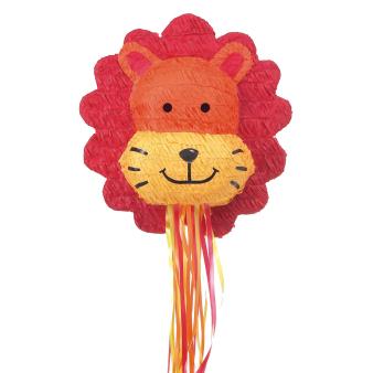 Pull Pinata Lion Paper / Plastic 39.9 x 41.9 x 16.5 cm