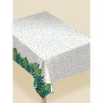 Tablecover Key West Flannel Backed Plastic 132 x 228.6 cm