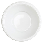 10 Bowls Plastic Frosty White 355 ml