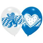 6 Latex Balloons Oktoberfest 22.8 cm/9''