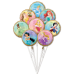 Bouquet Princess Once Upon A Time Foil Balloon P75 packaged