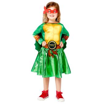 Child Costume TMNT Girls Age 6-8 Years