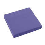20 Napkins New Purple 33x33 cm33x33cm