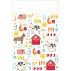 Tablecover Barnyard Birthday Plastic 137 x 243 cm