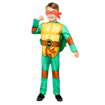 Child Costume TMNT Boys Age 8-10 Years