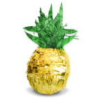 Pinata Pineapple Vibes Paper / Foil 27.4 x 45.5 x 26 cm