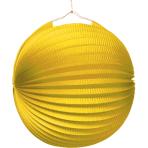 Lantern Yellow Paper 25 cm