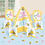 Table Decorating Kit What Will It Bee? Paper 27 Pieces 32.5 cm / 17.7 cm / 4.8 - 10.9 cm