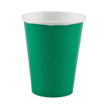 8 Cups Festive Green Paper 266 ml