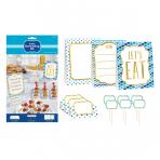 Buffet Decorating Kit Paper Minis