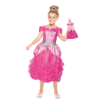 Girl's Costume Barbie Heart Princess & Mini Me 3 - 5 Years