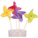 10 Picks Pinwheel Wood 20 cm