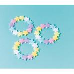 12 Bracelets Star Plastic 1.6 x 1.7 cm