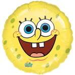 Standard SpongeBob Smiles FoilBalloon S60 Packaged