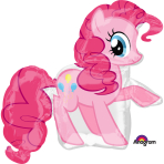 """SuperShape """"Pinkie Pie""""  Foil Balloon, P38, packed, 76 x 83cm"""
