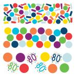 Confetti 80 Confetti Birthday Paper 34 g