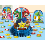 Table Decorating Super Mario  Paper / Foil 23 Pieces 31.7   cm/ 17.7 cm / 5 cm