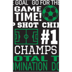 Tablecover Goal Getter Plastic 137x259 cm