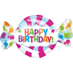 Mini Shape SweetShop Birthday Foil Balloon A30 Bulk 33 x 20 cm