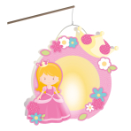 Lantern Building Kit Princess Paper 26 x 28 cm