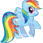 SuperShape My Little Pony FoilBalloon P38 Packaged 71 x 68  cm