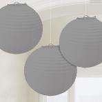 3 Lanterns Silver 20.4cm