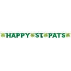 Letter Banner Happy St. Pats Foil 247.4 x 15.8 cm
