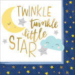 16 Napkins Twinkle Little Star 33 x 33 cm