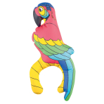 Inflatable Pirate's Treasure Parrot Plastic 27.9 cm