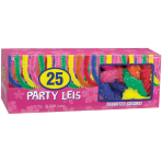 25 Leis Assorted Fabric 91.4 c