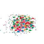 Confetti Ballon Party 2 Foil 15 g