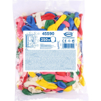 250 Latex Balloons Party Assorted 15,2 cm/6''