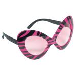 Fun Shades Diva Black & Pink Plastic 15.8 x 7 cm