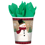 8 Cups Winter Wonderland Paper 266 ml