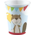 8 Cups Fox & Beaver Paper 250 ml