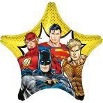 Jumbo Justice League Foil Balloon P45 Packaged