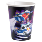 8 Cups Police Paper 250 ml
