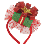 Head Band Christmas Gift Plastic / Fabric 13.6 x 18.8 cm