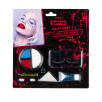 Halloween Make-up Creepy Clown 8 Pieces
