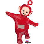 "SuperShape ""Teletubbies-Po"" Foil Balloon, P38, packed, 81x109cm"